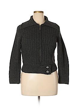 Sarah Spencer Wool Cardigan Size L (Petite)