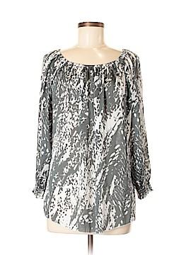 Adrienne Vittadini Long Sleeve Blouse Size M