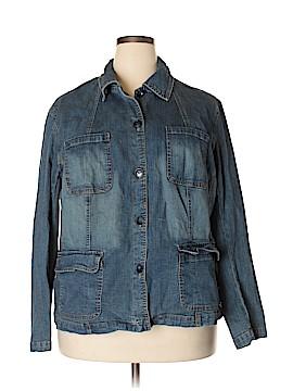 St. John's Bay Denim Jacket Size 3X (Plus)
