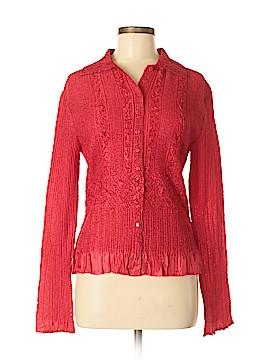 WD.NY Long Sleeve Blouse Size M