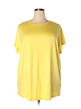 Isaac Mizrahi Short Sleeve T-Shirt Size 3X (Plus)