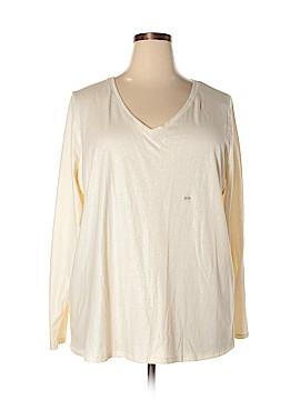 Lane Bryant Outlet Long Sleeve T-Shirt Size 22 - 24 Plus (Plus)