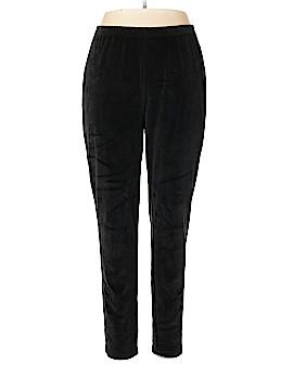 Quacker Factory Velour Pants Size 1X (Plus)