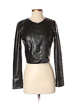 Jack. Faux Leather Jacket Size S