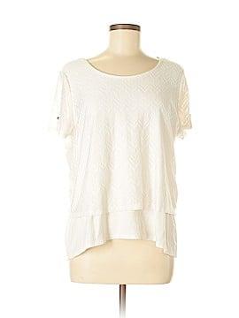 Kim Rogers Short Sleeve Top Size XL (Petite)