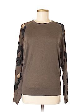 All Saints Long Sleeve Silk Top Size 6