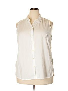 Bass Sleeveless Button-Down Shirt Size XXL