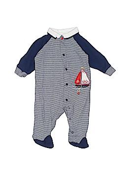 Little Me Short Sleeve Button-Down Shirt Size 3 mo