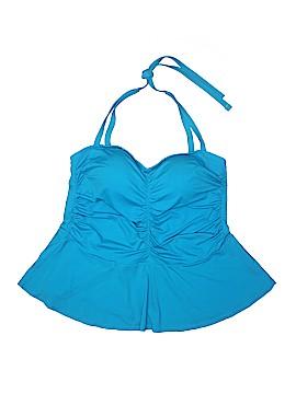 Swim by Cacique Swimsuit Top Size 18 (Plus)