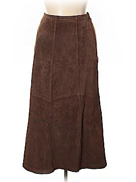 Chadwicks Leather Skirt Size 14