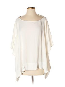 Diane von Furstenberg Short Sleeve Blouse Size S (Petite)