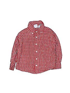 JK Kids Long Sleeve Button-Down Shirt Size 24 mo