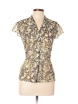 Ann Taylor Factory Short Sleeve Blouse Size 14 (Petite)