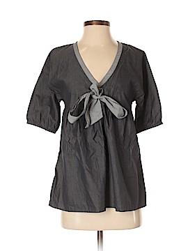 Paul & Joe Sister Short Sleeve Blouse Size Sm (1)