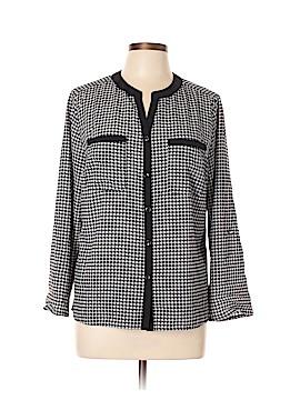 Elementz Long Sleeve Button-Down Shirt Size XL (Petite)