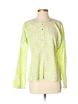 Subtle Luxury Long Sleeve Blouse Size Sm - Med