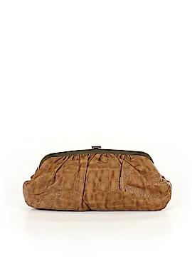 Jessica McClintock Leather Clutch One Size