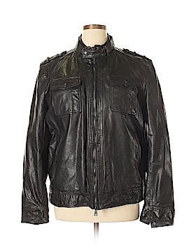 Vince Camuto Leather Jacket Size 1X (Plus)