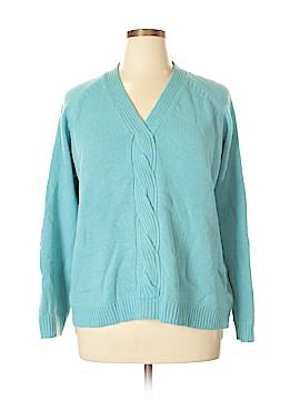 Carol Rose Pullover Sweater Size 3X (Plus)