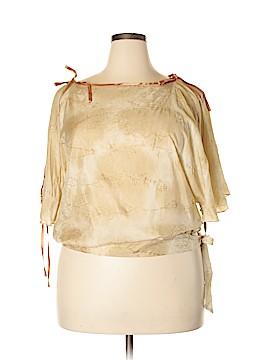 Red Herring Short Sleeve Blouse Size 18 (Plus)