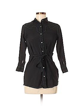 Rock 47 3/4 Sleeve Button-Down Shirt Size L
