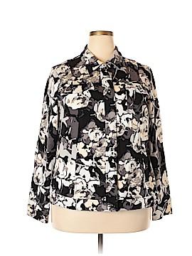 Isaac Mizrahi Jacket Size 2X (Plus)