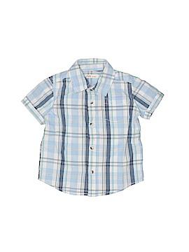 Fox Short Sleeve Button-Down Shirt Size 12 - 18