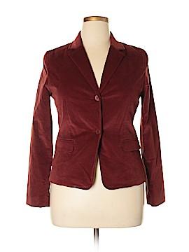 New Frontier Silk Blazer Size 10