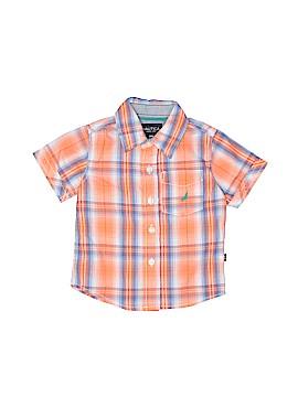 Nautica Short Sleeve Button-Down Shirt Size 18 mo