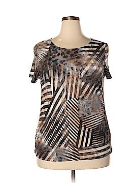 Peter Nygard Short Sleeve T-Shirt Size XL