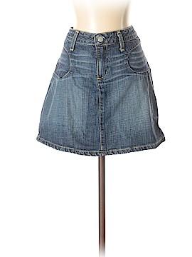 Paper Denim & Cloth Denim Skirt 28 Waist