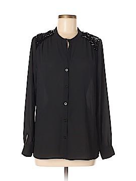 Sabine Long Sleeve Button-Down Shirt Size S