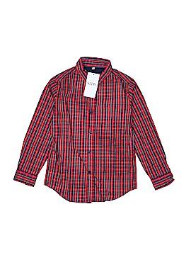 M&S Long Sleeve Button-Down Shirt Size 8 / 9