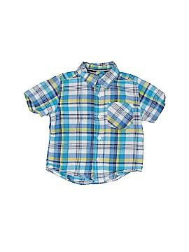 The Children's Place Short Sleeve Button-Down Shirt Size 13 - 18