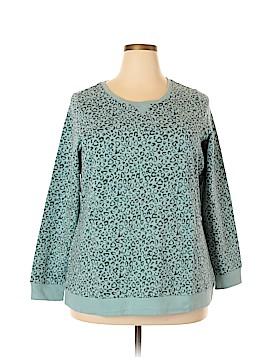 D&Co. Sweatshirt Size 1X (Plus)