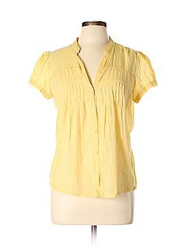 Mango Short Sleeve Blouse Size 10