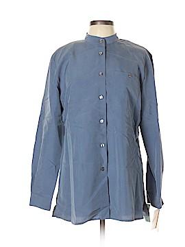 Anna Long Sleeve Button-Down Shirt Size L