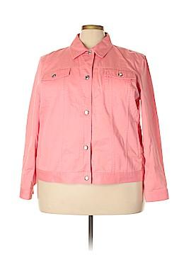 Chaps Denim Jacket Size 3X (Plus)