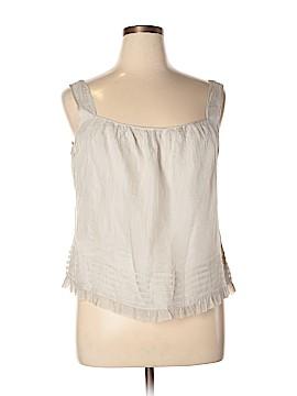 Lord & Taylor Sleeveless Silk Top Size XL