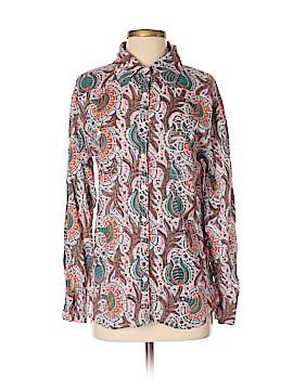 Roberta Roller Rabbit Long Sleeve Button-Down Shirt Size S