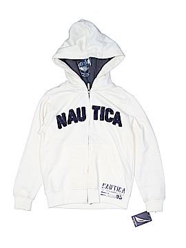 Nautica Zip Up Hoodie Size 7