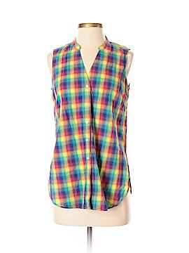 Uniqlo Sleeveless Button-Down Shirt Size S