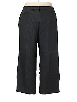 Larry Levine Dress Pants Size 24 (Plus)