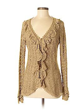Newport News Silk Cardigan Size M