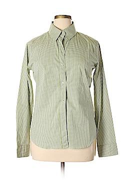 Burberry Brit Long Sleeve Button-Down Shirt Size 12