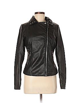 Knitworks Faux Leather Jacket Size M