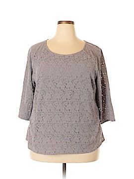 Boden 3/4 Sleeve Blouse Size 18 (Plus)