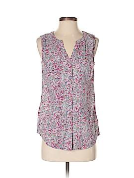 G.H. Bass & Co. Sleeveless Button-Down Shirt Size S