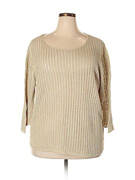 Sigrid Olsen Pullover Sweater Size 2X (Plus)