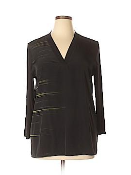 CALVIN KLEIN JEANS Long Sleeve Blouse Size XL